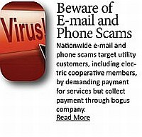 Beware of Email and Phone Scams