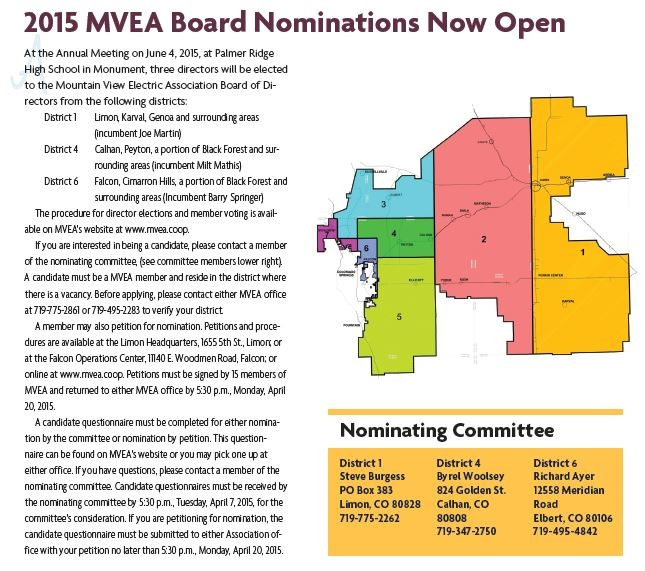 Nominating Committee Ad