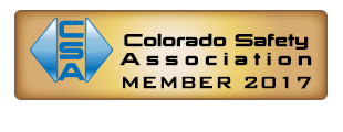 Colorado Safety Association Member 2017 Plaque